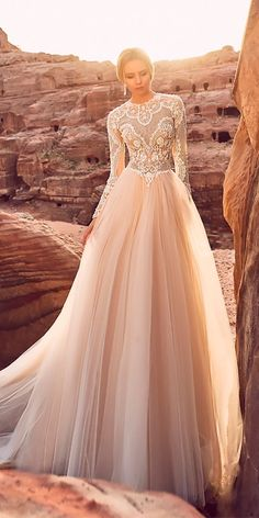 Top 33 Designer Wedding Dresses 2018 ❤ See more: http://www.weddingforward.com/wedding-dresses-2018/ #wedding