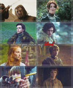 Lords and ladies of Winterfell, House Stark