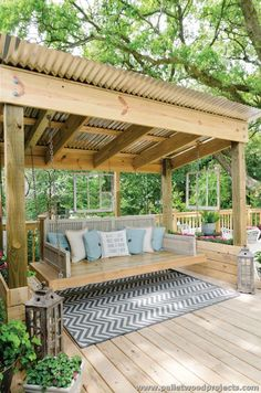 Patio Decor On A Budget . 24 New Patio Decor On A Budget . 15 Fabulous Small Patio Ideas to Make Most Small Space – Home and Gardening Ideas Diy Pergola, Backyard Gazebo, Backyard Seating, Backyard Patio Designs, Pergola Designs, Diy Patio, Patio Ideas, Landscaping Ideas, Garden Landscaping