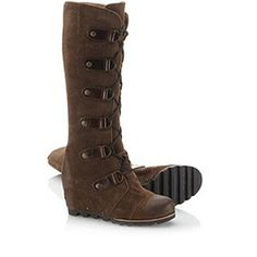 SOREL | Women's Joan of Arctic™ Wedge LTR Boot - I had no idea Sorel made pretty things