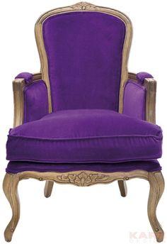 Villa Sessel Grandfather Purple