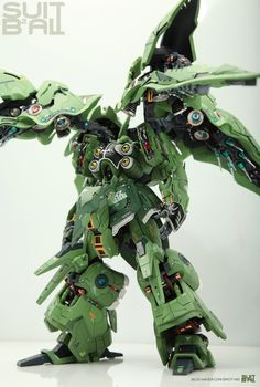 GUNDAM GUY: Mersa 1/100 Kshatriya - Painted Build