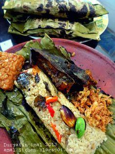 Amal's Kitchen: Simple & Easy Recipes: Nasi Bakar Special ^^