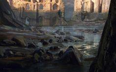 ArtStation - Forgotten Shore, Mohammad Qureshi