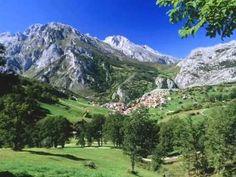 Wallpaper of Picos de Europa National Park - Asturias for fans of Spain 23341195 Monuments, Europe Wallpaper, Hd Wallpaper, Beautiful Places In Spain, Asturias Spain, Paraiso Natural, Destinations, Mountain Photos, Spain And Portugal