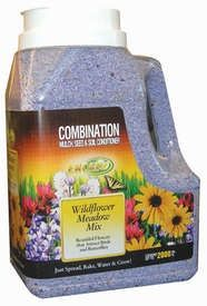 The Wildflower Meadow Mix Jug Features:    Mulch granules that release polymers and conditioners into the soil that help reduce erosion, improve water penetration and improve seed establishment  Sparkle - the unique watering feature that helps you water perfectly everytime. When the soil isnt sparkling in the sun, it needs to be watered. Once youve watered to the perfect amount, it starts to sparkle again, letting you know youve watered enough.