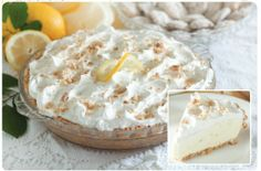 Savannah Smiles Lemon Chiffon Pie!