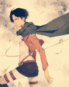Doesn't quite look like Levi but it's really cool art.