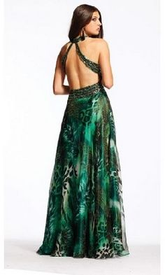 very low backless prom dresses