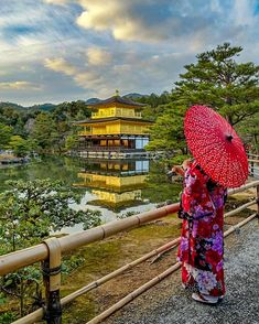 "1,568 Likes, 14 Comments - Miho Kyoto lovers (@lotus.m.lotus) on Instagram: ""Kinkakuji temple 〈Golden pavilion〉 world Heritage 18/12/2017 16: 30 Built in 1397 The golden…"""