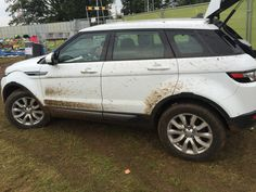 First muddy Evoque I've ever seen!!!