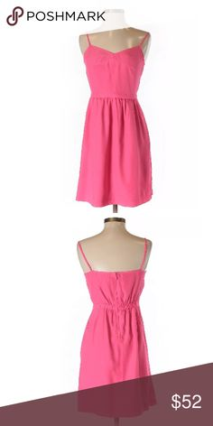 Adorable J. Crew Cami Dress in Poppy Pink The perfect addition to your wardrobe for Spring & Summer! J. Crew's adorable pink cami dress is the ideal throw-on-the-go piece that makes getting dressed for the day an absolute breeze, without having to sacrifice on your warm-weather style. It's versatility means it's fabulous for a multitude of occasions; dress it up with a pair of nude heels and your favorite statement necklace. Or, dress it down with flats and a light cardigan. NWOT J. Crew…