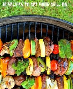 10 RECIPES for the GRILL
