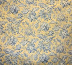 Blue Floral Wallpaper, French Country, Terrace, Fabrics, Decorating, Balcony, Tejidos, Decor, Decoration