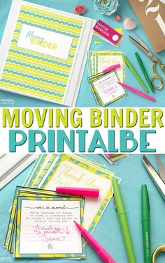 FREE Moving Binder Printable on Frugal Coupon Living. Free Moving Labels too and our top Moving Tips and Hacks. #printable #free #freebie #moving #home #homeimprovement #newhome