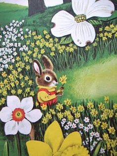 Illustration from I Am A Bunny, by Richard Scarry... one of my favorites!