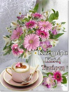 Tea Cups, Tableware, Wednesday, Dinnerware, Tablewares, Dishes, Place Settings, Cup Of Tea