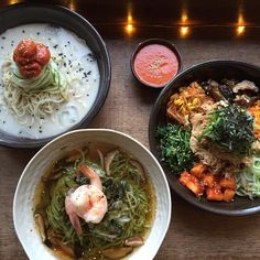 """""""Korean ramen, in the way I make it, is something that I basically made up,"""" says chef Esther Choi of Mokbar."""