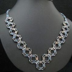 Kit Blue braided necklace Tila jeans