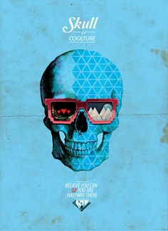 Skull is Coolture // Design Art Collection // CREDEAL