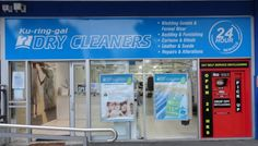 See photos, tips, similar places specials, and more at Ku-ring-gai Dry Cleaners Red T, Curtains With Blinds, Dry Cleaning, Four Square, Rings, Dry Cleaning Business, Ring, Jewelry Rings