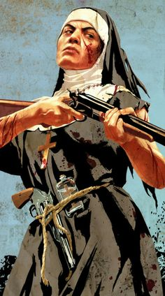 Nun gunfighter from Red Dead Redemption: Undead Nightmare.