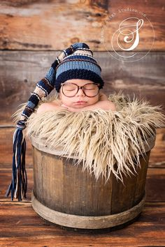 Custom Baby Hats, Newborn Winter Hats, and Newborn Photography Props, ORIGINAL DESIGNER of  One-of-A-Kind Keepsake Gifts. $28.00, via Etsy.