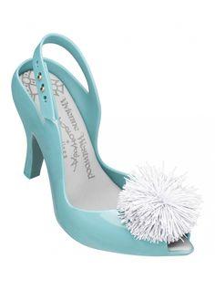 Vivienne Westwood + Melissa Shoes | Lady Dragon Peppermint Pom Pom