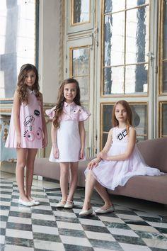 @fendiofficial kids spring summer 2017 #stripes #Fendi #FendiKids #SS17 #springsummer2017 #children #kids #childrenwear #kidswear #girls #boys
