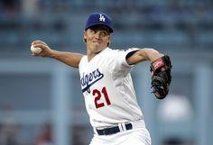 LA Dodger Pitcher Zach Greinke