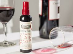 This all-natural, American-made formula removes some of the toughest stains—wine, beet, pomegranate, berries and more.