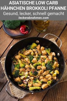 Stir fry chicken with broccoli and mushrooms - Chinese food photo by Timolina on Envato Elements Vegan Dinners, Healthy Dinner Recipes, Cooking Recipes, Best Indian Recipes, Ethnic Recipes, Roast Chicken And Gravy, Clean Eating, Healthy Eating, Macro Meals