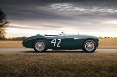 "The Austin-Healey 100S was created by Donald Healey as a purpose built racer to show the potential of his relatively new 100/4, only 50 chassis would be built in the 100S series for homologation purposes and the first one was raced in anger at the 12 Hours of Sebring in 1954 (the ""S"" in 100S..."