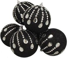 black christmas tree | Black christmas tree ornaments pictured: 6 December Diamonds Black ...
