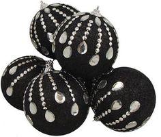 black christmas tree | Black christmas tree ornaments pictured: 6 December Diamonds Black ...