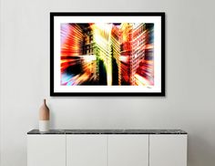Discover «Abstract Flatiron Building NYC», Numbered Edition Fine Art Print by Nannie van der Wal - From 20€ - Curioos