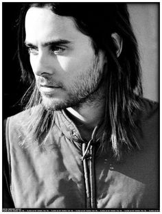Jared Leto.  Especially for you to enjoy, my dear Elise.
