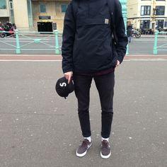 W2C This Carhartt WIP Anorak in black? : streetwear