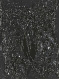 Alberto Burri, Nero Plastica, 1965