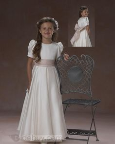 2f662a549 27 best Flower girls images | Flower girls, Boys suits, Custom dresses