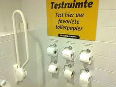 Publicité pour du papier toilette. Servez-vous et testez ! http://www.15heures.com/photos/K99L?utm_source=SNAP #LOL