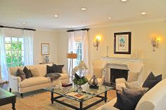 Traditional Living Room - Found on Zillow Digs. Formal Living Rooms, Home Improvement, Gallery Wall, Traditional, Furniture, Design, Home Decor, Ideas, Decoration Home