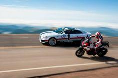 Ducati and Audi celebrate Pikes Peak International Hill Climb