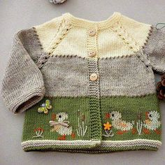 986 Beğenme, 9 Yorum - Instagram'da Zerrin Kurt (@zerrindenharikalar) Embroidery Stem Stitch, Silk Ribbon Embroidery, Flower Embroidery, Hand Embroidery, Baby Knitting Patterns, Baby Patterns, Hand Knitting, Summer Cardigan, Pink Cardigan