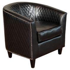 Cool chair I found on wayfair! Found it at Wayfair - Alford Bonded Leather Quilted Barrel Chair http://www.wayfair.com/daily-sales/p/Comfy-Family-Room-Finds-Alford-Bonded-Leather-Quilted-Barrel-Chair~NFN1146~E14247.html?refid=SBP.rBAZEVOeTj1lU1VXjhGVAujmCT7Yc0Dqo5o3AkdWuag
