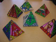 The Elementary Art Room!: marker Brito and Egyptian symbols