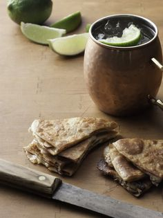 Moscow Mule & Quesadilla - Bill Scepansky Bill of Fare. February 2015 http://www.lancastercountymag.com/mad-about-cocktails/