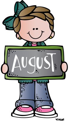free month clip art month of august summer clip art image the rh pinterest com August Fun Clip Art August Fun Clip Art