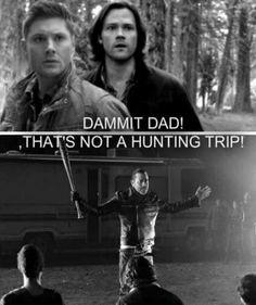 #twd #spn #johnwinchester #crossover #mashup #negan  #jeffreydeanmorgan #supernatural #huntingtrip #thewalkingdead #walkers