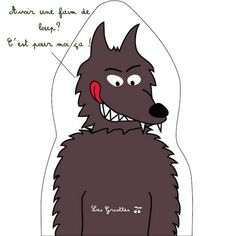 Expressions d'animaux : le loup